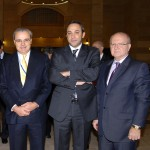 With Jean-Louis Chaussade - Suez CEO & VP prior to Signing agreement