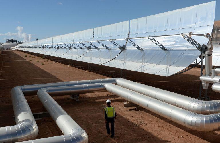 Menabex Web-News - Moroco largest solar farm - CSP - 2