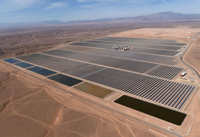 Menabex Web-News - Morroco Largest Solar Farm -1